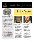 2017 Study Guide for Julius Caesar