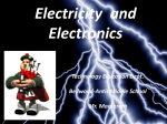 Electricity and Electronics - Bellwood