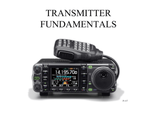 TRANSMITTER FUNDAMENTALS