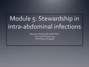 Module 5: Stewardship in intra