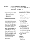 Morrison Chapter 8 Objectives