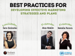 Best Practices For Developing Effective Marketing Strategies and