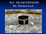 7.2 ISLAM EXPANDS