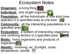 ecosystemnotes