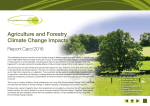 Agriculture and Forestry Climate Change Impacts
