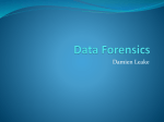 Data Foresensics