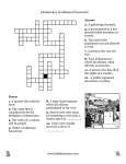 Athenian Democracy Crossword