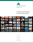 The Rise of Rich Media for Direct Marketing