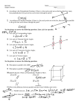 Chapter 3 Review Solutions - Anoka