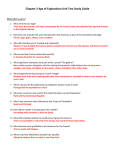 the age of exploration unit test study guide key