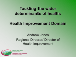 Tackling the wider determinants of health