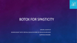 botox for spasticity