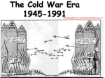 The Cold War begins 1945 -1948