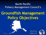 Groundfish Management Policy Objectives of the North Pacific