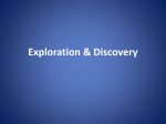 Powerpoint notes for explorers and exploration