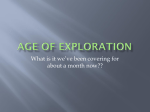 age of exploration - Rowan County Schools