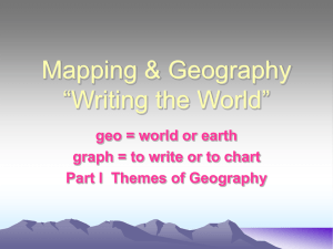 The 5 Themes of Geography - Chandler Unified School District