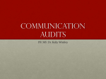 Communication Audits