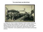 The United States and World War I_Student