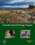 here - Colorado Natural Heritage Program