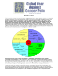 Total Cancer Pain - International Association for the Study of Pain
