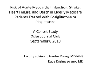 Risk of Acute Myocardial Infarction, Stroke, Heart Failure, and Death