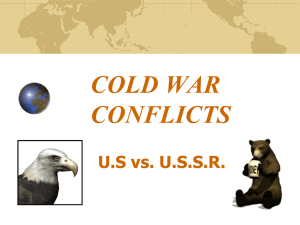 26-cold war conflicts - Wood
