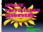 IODINE DEFICIENCY power point presentation