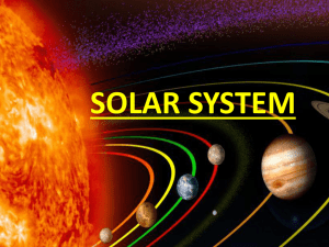 solar system - Teaching Children