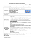"Drug Information Sheet (""Kusuri-no"