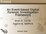 An Event-based Digital Forensic Investigation Framework