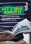 Lets Talk About It Improving Information and Support