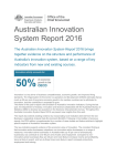 Snapshot Australian Innovation System Report 2016