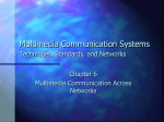 6 Multimedia Communications Across Networks