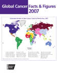 Global Cancer Facts and Figures 2007