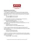 Subject and Verb Agreement - Austin Peay State University
