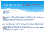 4/22 Daily Catalyst Evolution Review