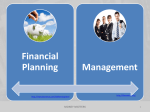Introduction to Financial Planning