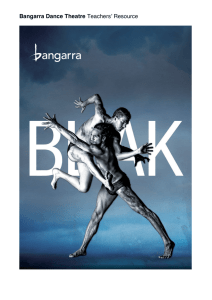 Bangarra Dance Theatre Teachers' Resource
