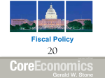 Fiscal Policy - Macmillan Learning