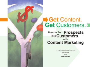 Free eBook of Get Content. Get Customers
