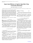 Improving Efficiency of Apriori Algorithm Using Transaction Reduction