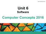Unit 6 Software