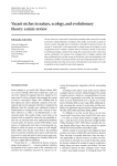 Vacant niches in nature, ecology, and evolutionary theory: a mini