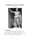 Augustus-Great Leader