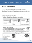 Healthy Eating Habits - Intermountain Healthcare