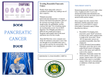 The stages of pancreatic cancer are - Yu, Anton Kristoffer
