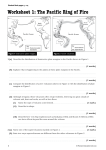 Worksheet 1: The Pacific Ring of Fire