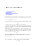 Lecture notes, Chapter 6. Time Evolution in Quantum Mechanics