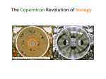The Copernican revolution of the biology